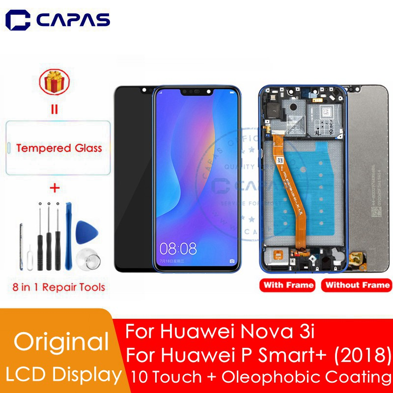 Original For Huawei Nova 3i LCD Display + Frame 10 Touch Screen For Huawei Nova 3i LCD Screen Replacement Repair Spare Parts-in Mobile Phone LCD Screens from Cellphones & Telecommunications