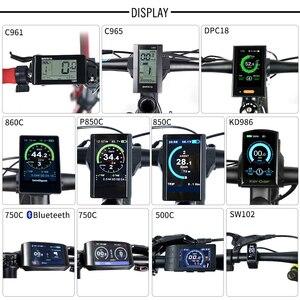 Image 3 - Bafang BBS02B 48V 500W Mitte Antrieb Motor Electric Bike Conversion Kit DPC18 850C P850C 500C 860C Display E fahrrad 8fun BBS02