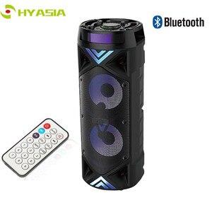 Image 1 - HYASIA Altoparlante Portatile Senza Fili Grande 30W di Potenza pesante 4500mAh Stereo sistema audio basso Bluetooth Soundbar di Sostegno FM USB TF Aux