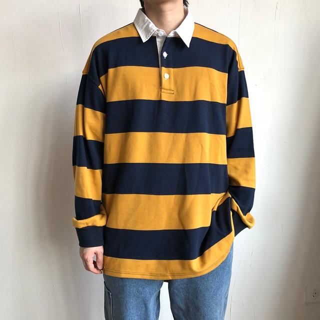 2019 ใหม่ของผู้ชายพิมพ์ลายเสื้อหลวมแขนยาวชาย Pullover Hoodies ฝ้ายเสื้อผ้า 3 สีเสื้อ M 2XL