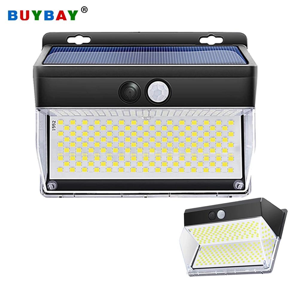Solar Powered 262 LED PIR Motion Sensor Wall Security Light Garden Outdoor Lamp