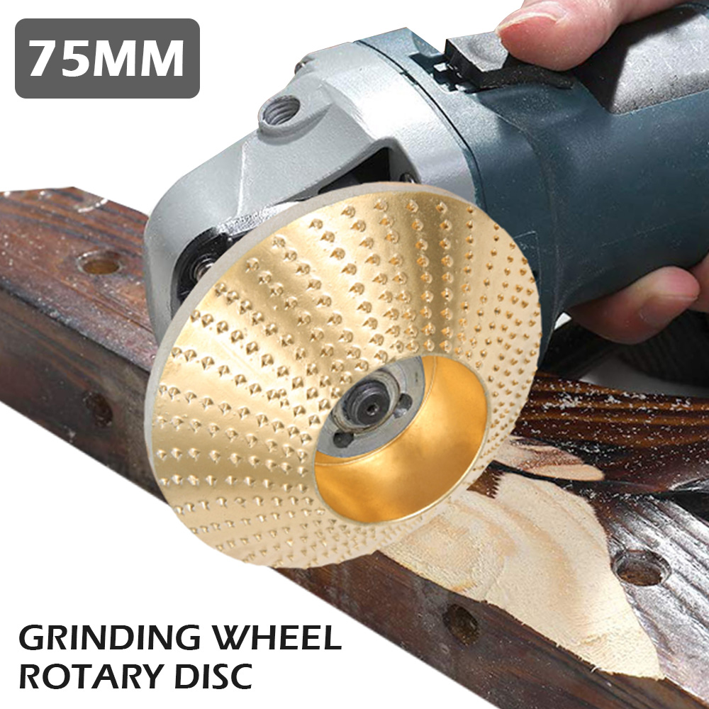 Wood Grinding Wheel Rotary Disc Sanding Wood Carving Tool Abrasive Disc Tools For Angle Grinder Metal Plastic Wood Abrasive Tool