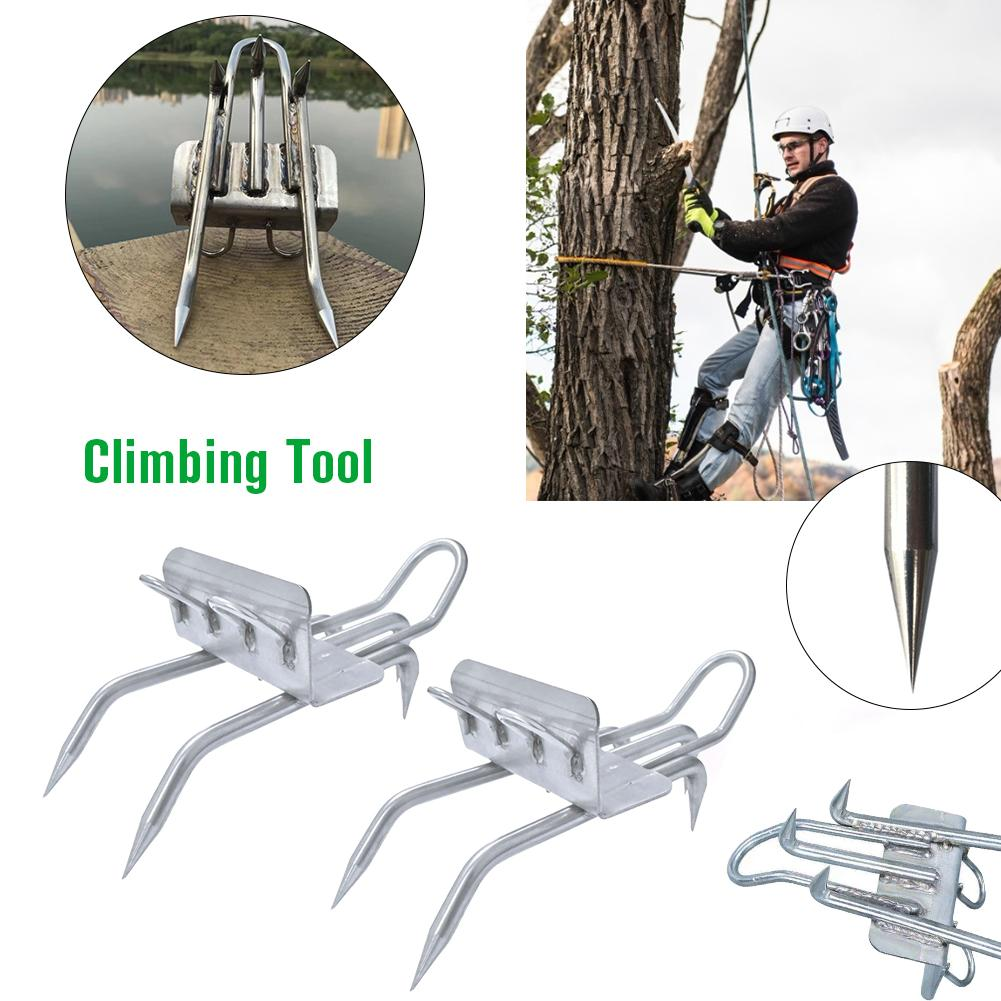 Tree Climbing Tool Pole Climbing Spikes For Hunting Observation Picking Fruit 304 Stainless Steel Climbing Tree Shoes Simple