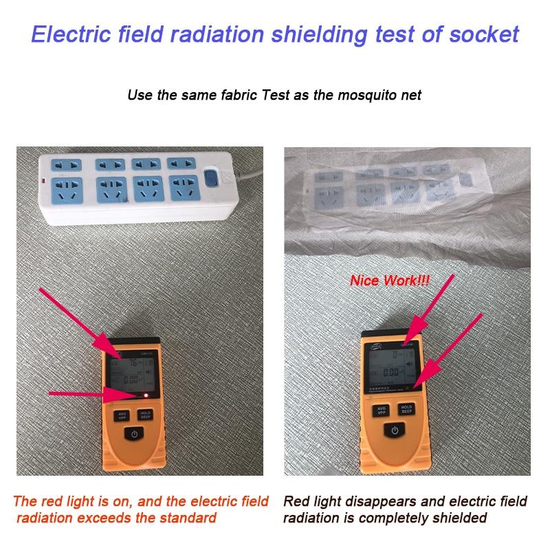 Electric field test