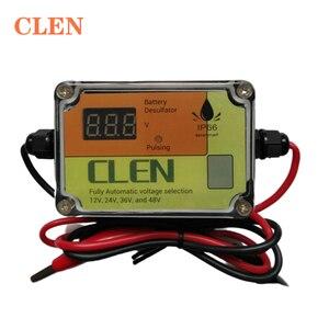 Image 1 - CLEN nowy model 400Ah inteligentny automatyczny impuls samochodowy akumulator kwasowo ołowiowy odsiarczający Regenerator regenerujący
