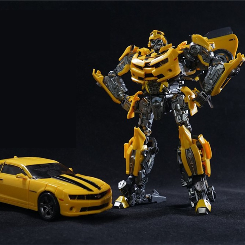 Transformers Action Figure Toys Bumblebee LTS-03c KO Metal Dition Anime Movie Transformation Bumblebee Model Toy
