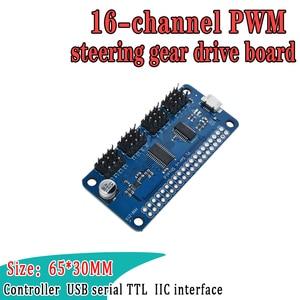 Raspberry Pi Servo Driver HAT, обеспечивающий Точный выход ШИМ, 16-канальный 12-битный интерфейс I2C, поддержка Raspberry Pi Zero/Zero W/3B +