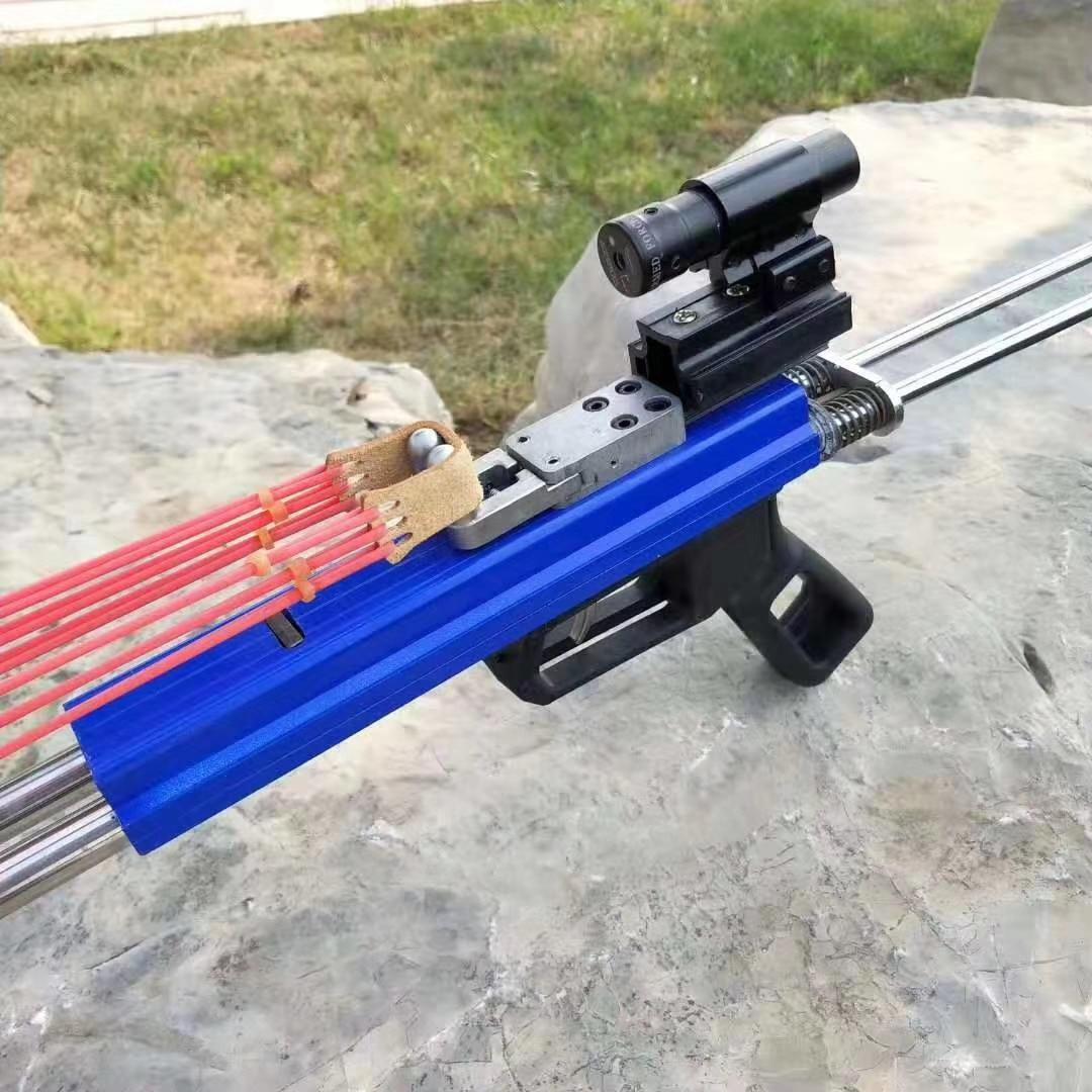 poderosa catapulta tiro ao ar livre caça