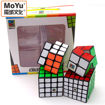 Magics Cube 2345 Professional Speed Magic Cube Educational Puzzle Toys for Children Learning Cubo Magic Toys Rubic Cube Set shengshou brand 5x5x5 magic cube professional speed magic cube children educational toys magico cubo rubic cube
