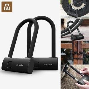 Image 1 - XIAOMI Mijia AreoX Intelligent empreinte digitale U serrure U8 casier porte coulissante voiture moto vélo cadenas fenêtre mot de passe étanche