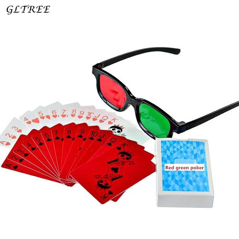 Children Rehabilitation Training Red Green Poker Color blindness anisometropic amblyopia strabismic amblyopia Corrective Glasses