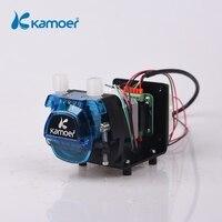 Kamoer KCM ODM High precision small peristaltic dosing pump 12V /24V with stepper motor