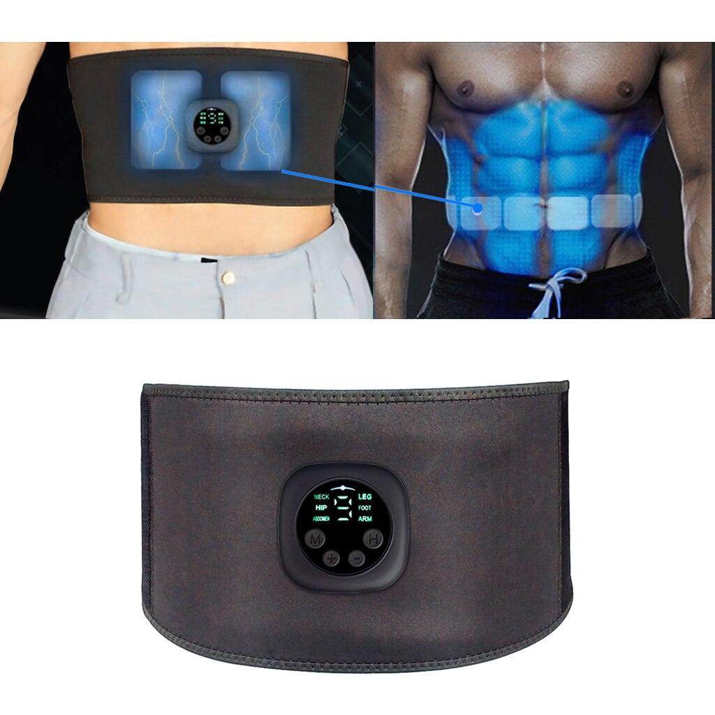 Ceinture de tonification abdominale EMS pour hommes et femmes