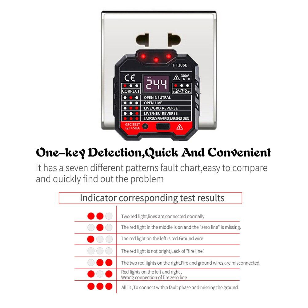 detecção tensão soquete detector eua ue reino