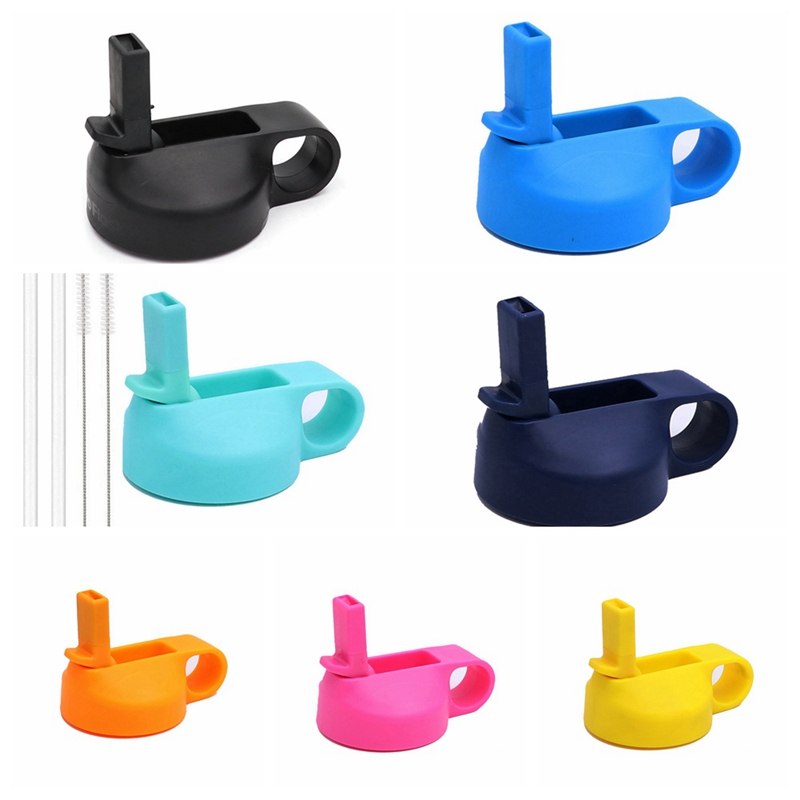 Cup-Lid Flask-Straw Water-Bottle HYDRO Stainless-Steel Wide-Mouth Vacuum-Flask for Universal