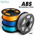 Filamento ABS de 1,75 MM para impresora 3D y bolígrafo 3D SUNLU SL-300 1KG con tolerancia de carrete +/-0,02mm 100% sin burbujas