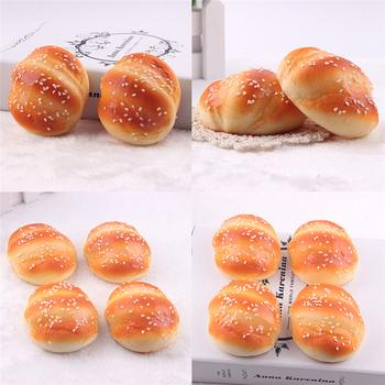 Nowa symulacja Model sztuczny chleb ozdoby ciasto piekarnia fałszywe rzemiosło dzieci zabawka kuchenna pączki pączki udawaj zagraj w zabawki dla dzieci tanie i dobre opinie CN (pochodzenie) piece 0 025kg (0 06lb ) 1cm x 1cm x 1cm (0 39in x 0 39in x 0 39in)