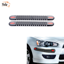 YOLU Automobile Anti Collision Strip Thick Bullet Type Bumper Auto Car Proof New Pattern Wipe Str