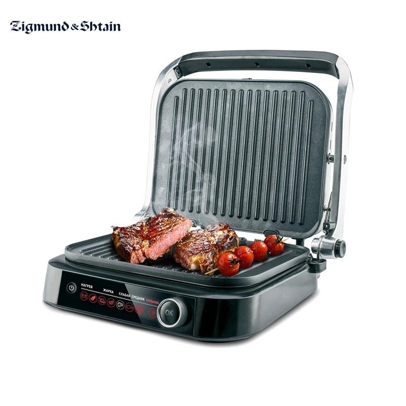 Гриль электрический Zigmund & Shtain Grillmeister ZEG-928