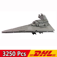 05027/81029 3250pcs The Star War Movie Imperial Star Destroyer UCS Fighters Model Building Blocks Compatible Legoings 10030 Toys