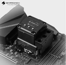 Barrowch POM CPU Block Pump Reservoir 17W PWM Intelligent Pump Three In One OLED Digital Display, LTPRP-04/LTPRPA-04/LTPRPX-04