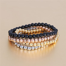 2020 New Trend Beads Bracelet&Bangles for Women Men Stainless Steel Bead Korean version Nail bracelet Charms Jewelry Gifts
