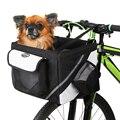 600D Оксфорд ткань велосипедная корзина руль велосипеда передняя сумка коробка собака кошка переноска Аксессуары для велосипеда