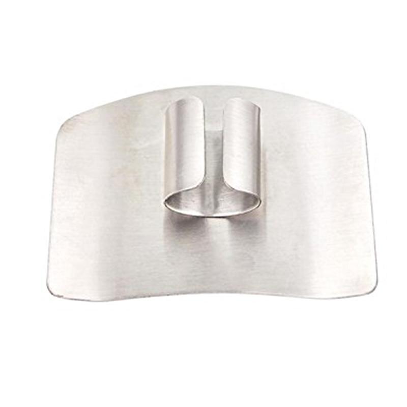 Новая нержавеющая сталь рука гвардии палец футуристический уютный протектор нож ломтик Чоп Безопасный инструмент