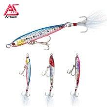 Như Bờ Đúc Thìa Jig 14g20g30g40g Chì Kim Loại Jig Mồi Đúc Thìa Dụ Nhân Tạo Mồi Bờ Câu Cá Biển Bass Dẫn dụ Bộ Lưỡi Câu Angler