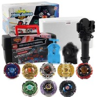 Toupie Bayblade Burst Set Toys Bayblades Bayblade Metal Fusion 4D With Launcher Spinning Top Blade Blades Toys YH1860