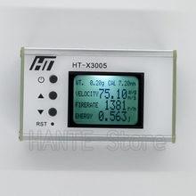 Tiro cronógrafo wifi tiro medidor de velocidade bola velocidade medição energia bala velocidade tester