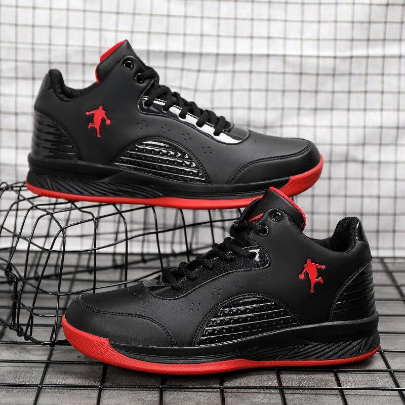 Men Women Training Basketball Shoes Cushioning Basketball Sneakers Unisex High-top Shoe Couple Breathable Retro Basketball Boots