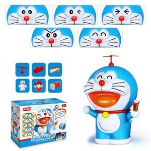 Image 5 - หน้าเปลี่ยนตุ๊กตาญี่ปุ่นDoraemonของเล่นเขย่าDream Pocket Action Figureของเล่นเด็กตัวเลขการกระทำและของเล่น