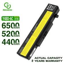 Golooloo 4400 мА/ч, Батарея для LENOVO G580 Y480 L11L6Y01 L11L6F01 L11L6R01 L11N6Y01 L11M6Y01 L11N6R01 L11P6R01 L11S6F01 L11S6Y01