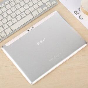 Image 2 - 10.1 pouces tablette Android 7.0 2.5D acier écran 3G 2G appel téléphonique 1GB + 32GB 4 Core double SIM Support GPS OTG WiFi PC