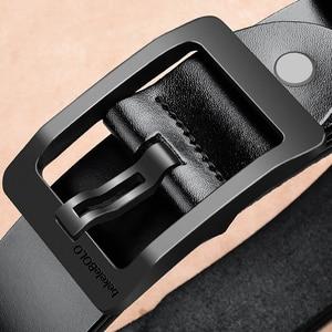 Image 3 - Cinturones de diseñador para hombre, cinturones casuales de alta calidad, Estilo Vintage, de cuero genuino, 8868