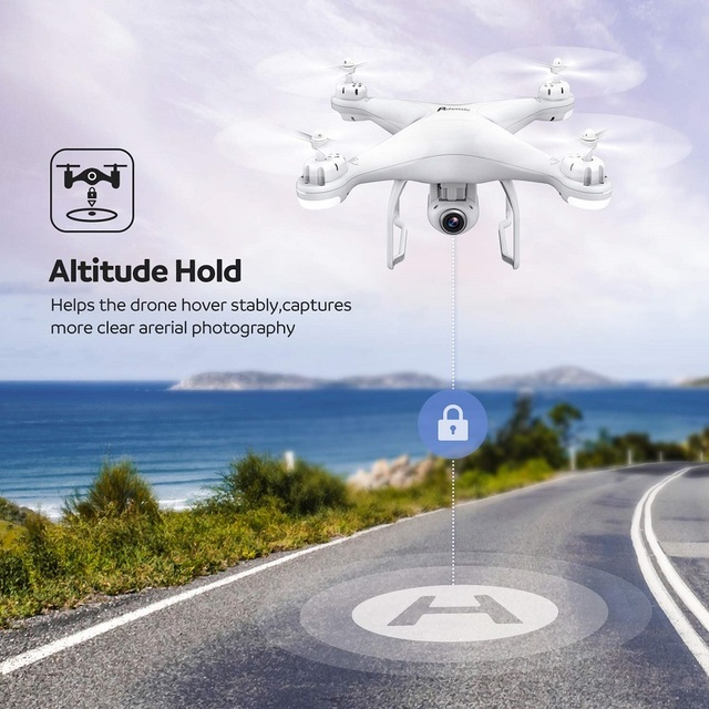 Potensic Professional T25 GPS Drone Wifi FPV RC Helicopters with 1080P HD Camera Auto Return Home Altitude Hold RC Quadcopter 5