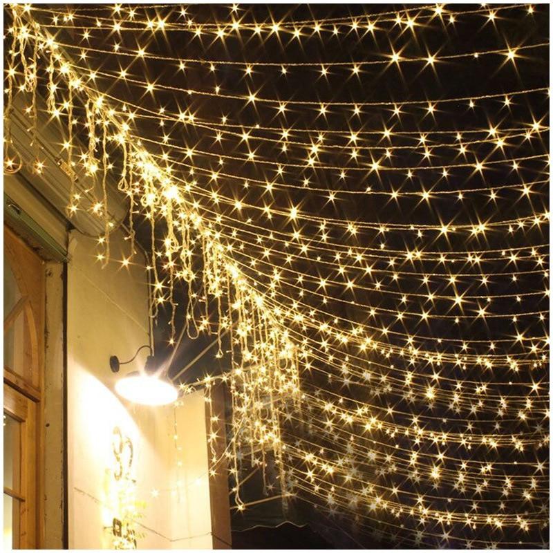 Светильник Светодиодная гирлянда для дома, 10 м, 20 м, 30 м, 50 м, 100 м