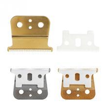 חדש 2 שיער קליפר החלפת להב קרמיקה + מתכת תחתון עבור האנדים שיער גוזז חיתוך מכונת אבזרים