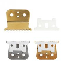 New 2 Hair Clipper Replacement Blade Ceramic  + Metal Bottom  for Andes Hair Clipper Cutting Machine Accessories