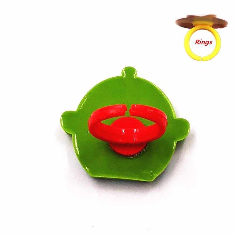 1Pcs Cartoon Anime Marvel Avengers Hero Icon Kids Ring Bat man Soft Boy Finger Rings PVC Craft For Baby Cosplay Accessories Gift