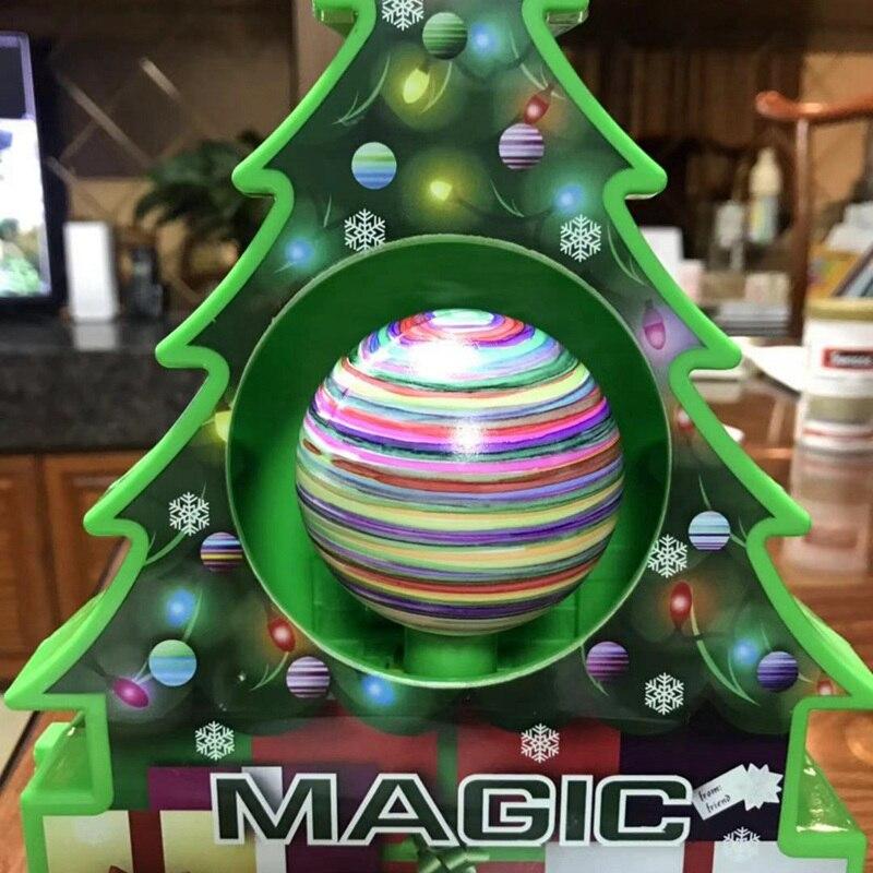 6 uds. Nueva bola de nieve pintada DIY con accesorios artesanales para árbol de Navidad colgante niños regalo juguete adornos navideños para el hogar
