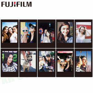 Image 3 - Fujifilm Instax Mini Film 11 8 9 Film 10 Sheet Mini Instant Photo Paper for Camera Instax Mini7s 50s 90 Blue Black Airmail