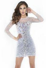 Великолепная гофрированные ажурные Коктейльные мини платья с