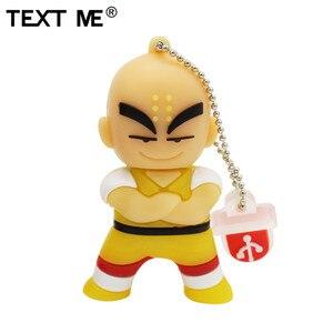 Image 2 - Văn Bản Tôi Bút 4GB 8GB 32GB 64GB Hoạt Hình Rồng Bóng Goku Kuririn Pendrive 16Gb đèn LED Cổng Usb