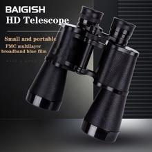 BAIGISH Telescope 10X50 Original Russian Military Binoculars Powerful  Hunting binocular lll Night Vision High Power Telescope