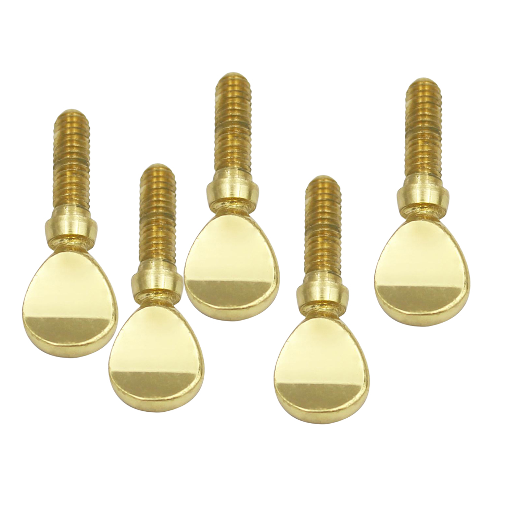 Golden Metal Sax Neck Screw Tightening Screws For Saxophone Clarinet Parts