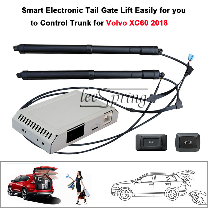 Car Electric Tail Gate Lift For Volvo XC60 2018  With Latch