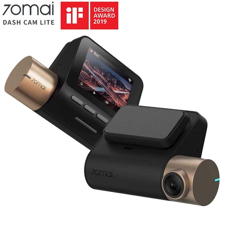 Original 70mai Dash Cam Lite 1080P GPS ADAS Car DVR 70mai Dash cam Lite 24H Parking Monitor 140FOV Night Vision WIFI Car Camera