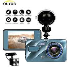 J16 wideorejestrator samochodowy kamera na deskę rozdzielczą era widok z tyłu podwójny obiektyw 1080P 3.6